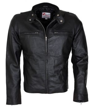 Bradley Cooper Adam Jones Black Leather Jacket