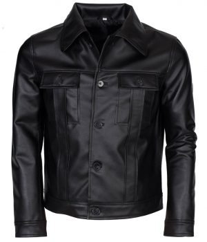 Elvis Presley Men Vintage Leather Jacket