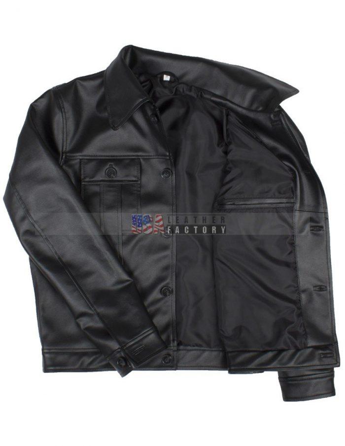 Elvis Presley Men Vintage Leather Jacket Sale Online