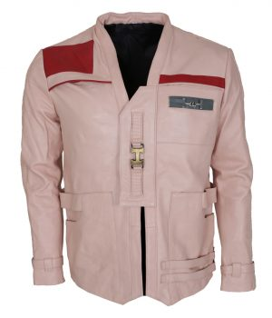 Finn Leather Pink Jacket