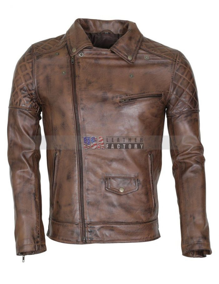 Designer Brando Leather Jacket