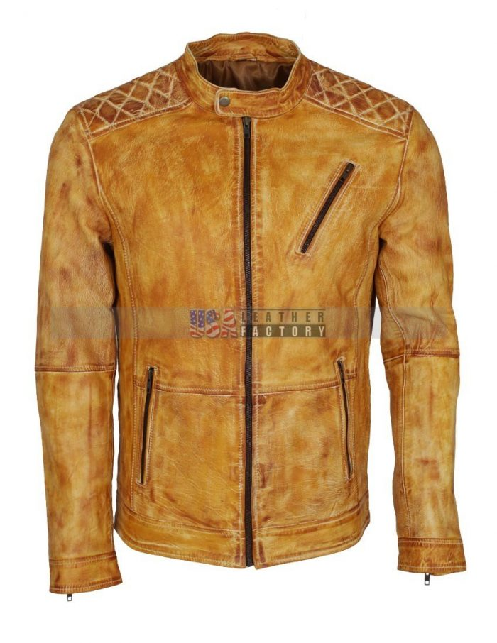 Men's Designer Leather Jacket
