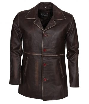 Supernatural Dean Winchester Distressed Brown Jacket
