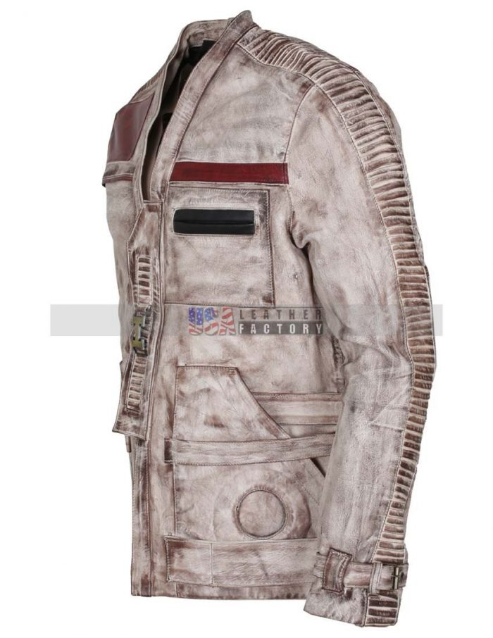 Star Wars Finn Leather Jacket