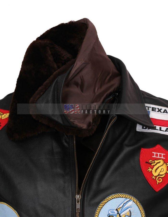 Tom Cruise Pete Maverick Leather Jacket