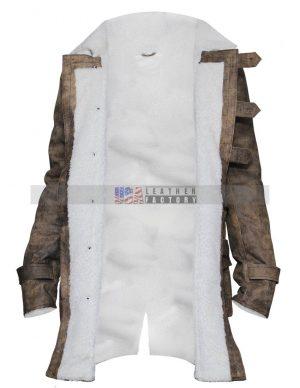 Tom Hardy The Dark Knight Rises Bane Leather Coat