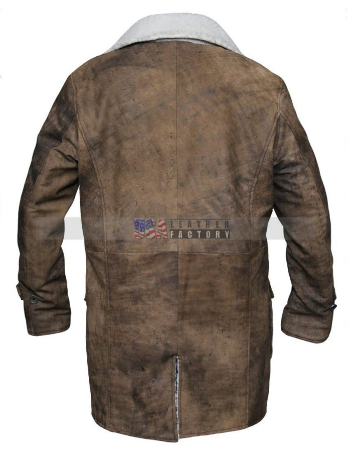 Tom Hardy The Dark Knight Rises Bane Leather Coat