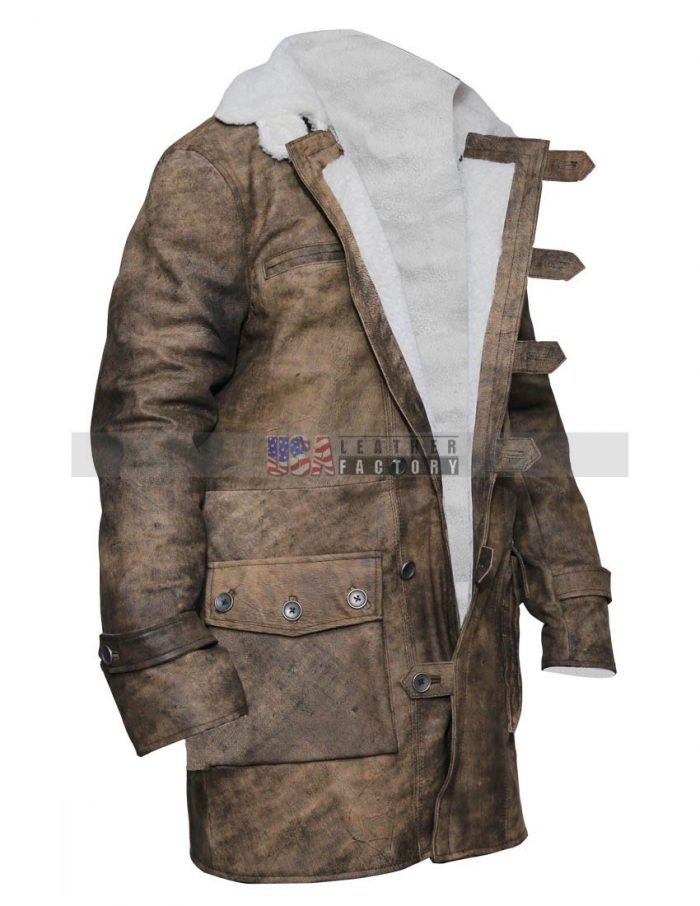 Bane Leather Coat Sale