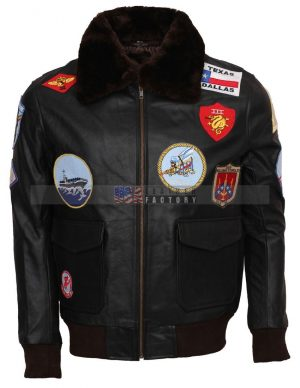 Top Gun Tom Cruise Pete Maverick Leather Jacket Sale
