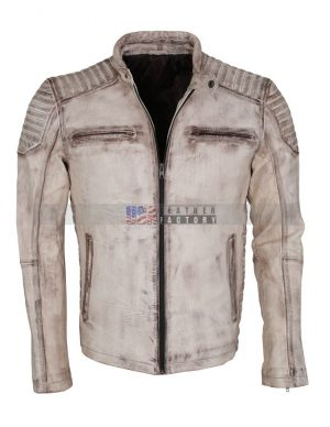 Italian Vintage leather Jacket