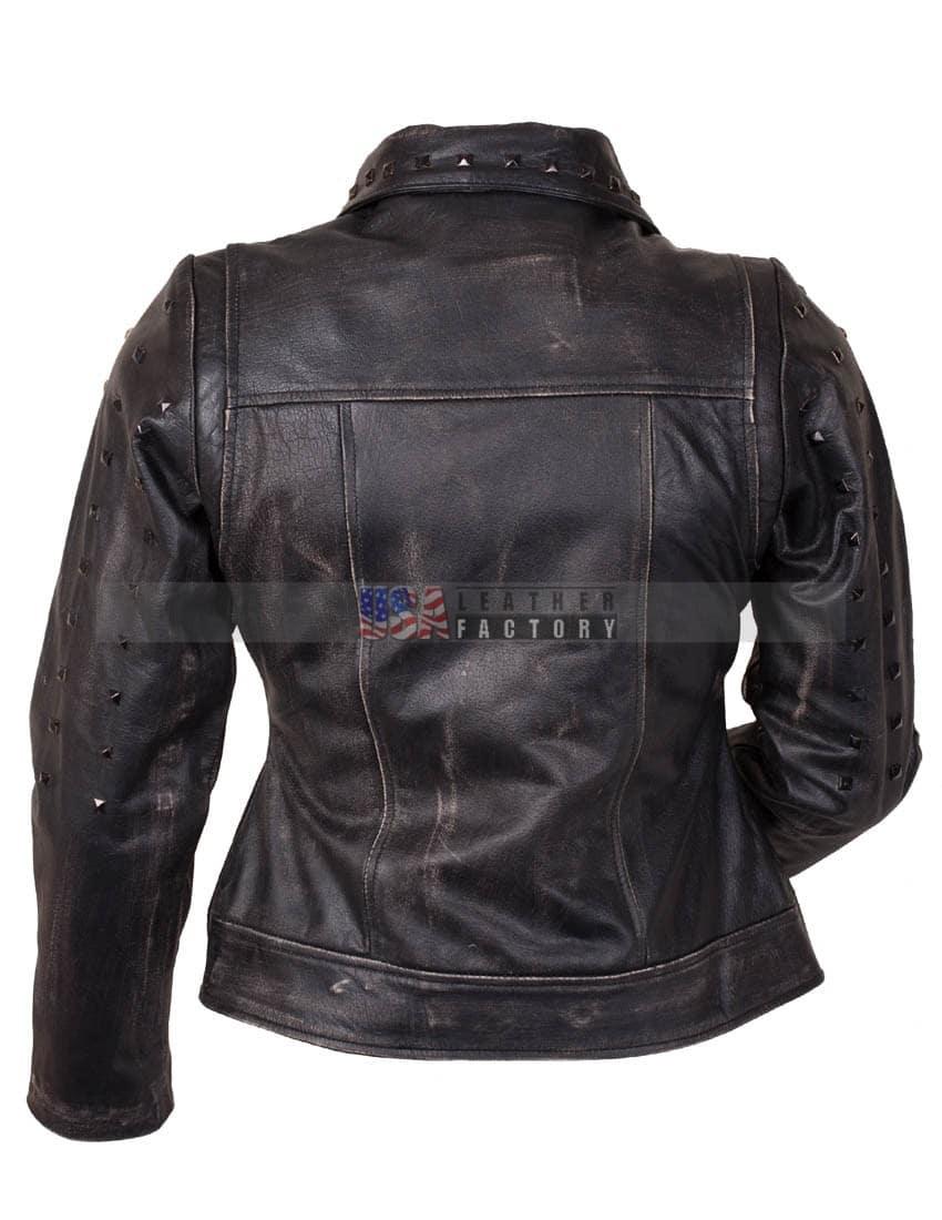 X-Men Apocalypse Mystique Jennifer Lawrence Leather Jacket -