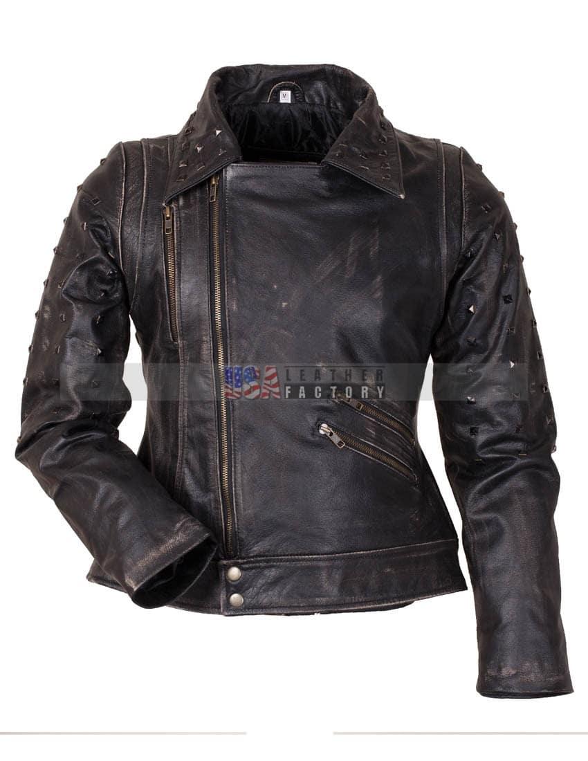 X-Men Apocalypse Mystique Jennifer Lawrence Leather Jacket ...