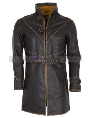 watch dogs aiden pearce leather coat costume