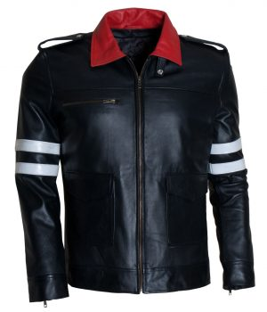 Alex Mercer Prototype 2 Black Leather Jacket