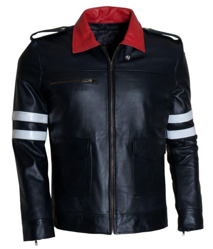Alex Mercer Prototype 2 Black Leather Jacket
