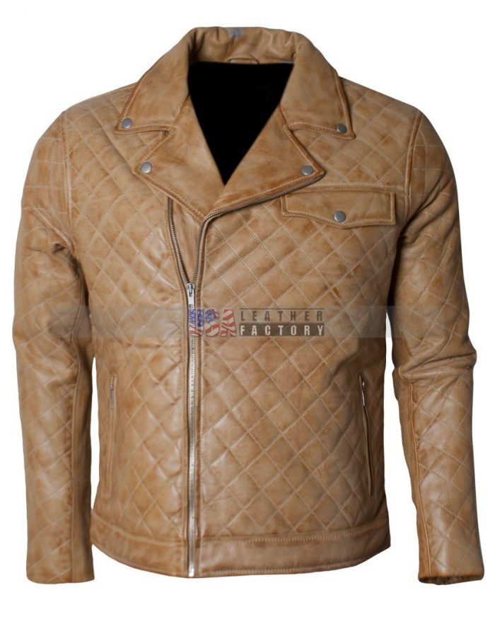 Soft Leather Biker Jacket