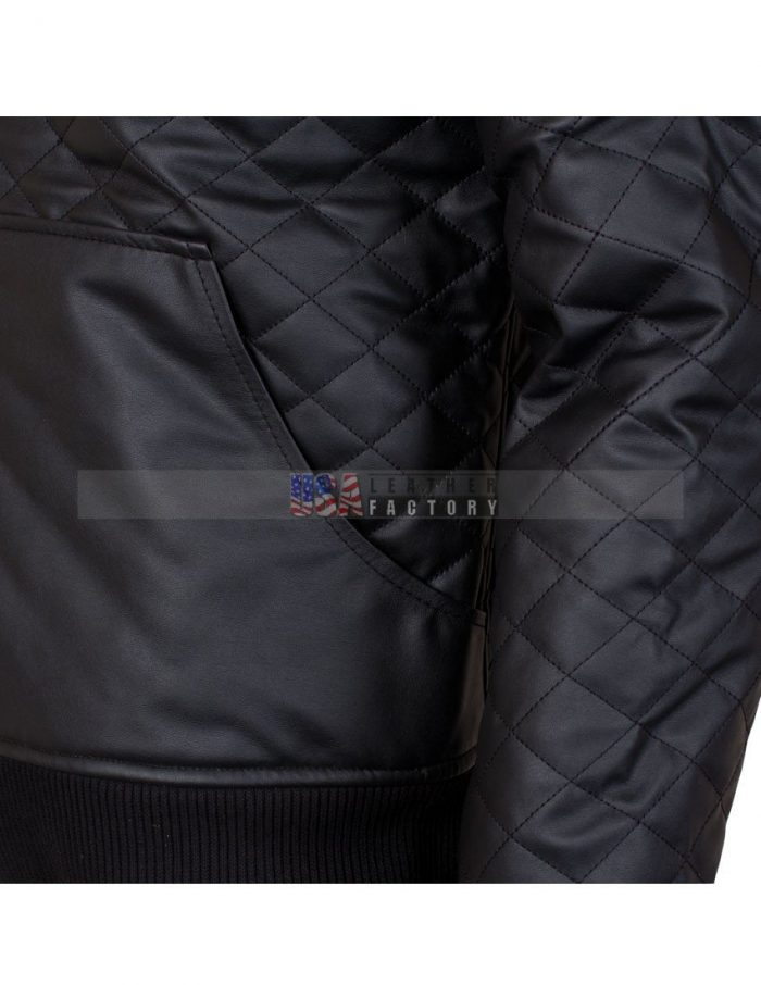Casual Square Deluxe leather jacket