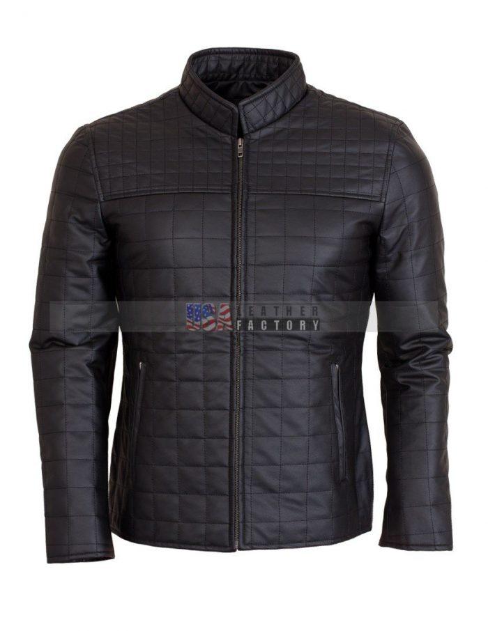 Brown Men's Leather Jacket