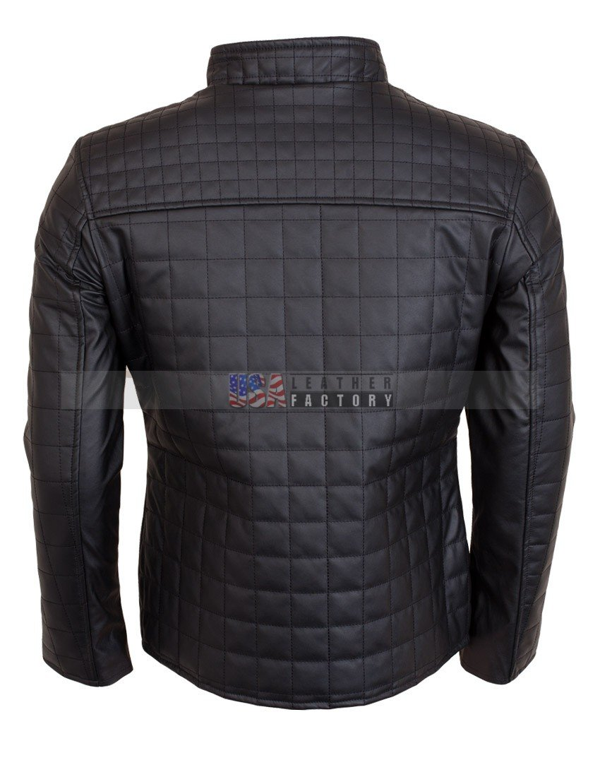 Buy Mens Quilted Brown Mens Fashion Leather Jacket 670a4dd2f1a
