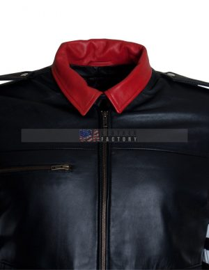 MEN/'S GAMING ALEX MERCER PROTOTYPE ACTION GAME REAL LEATHER JACKET WITH DRAGONS