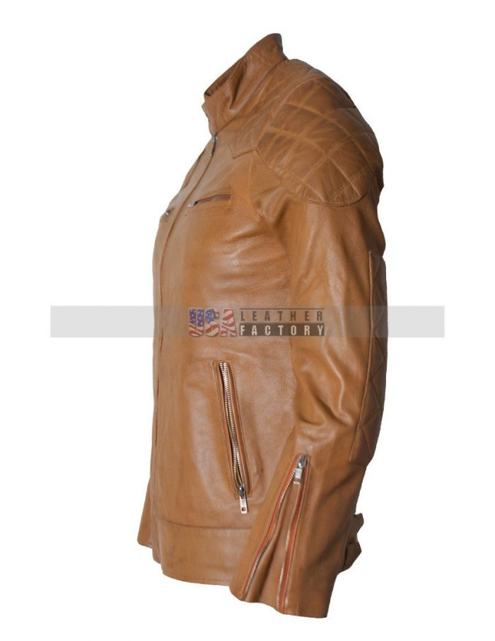 Leather David Beckham Jacket