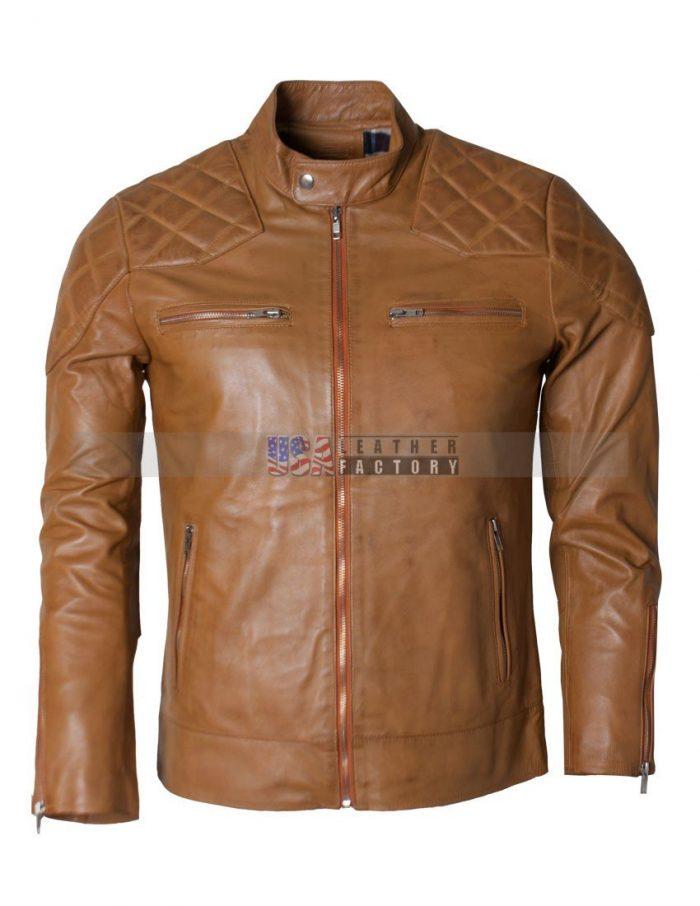 Leather David Beckham Jacket