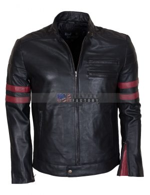 Mayhem Black Motorcycle Jacket