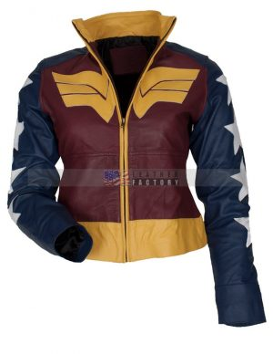 Wonder Women Leather jacket