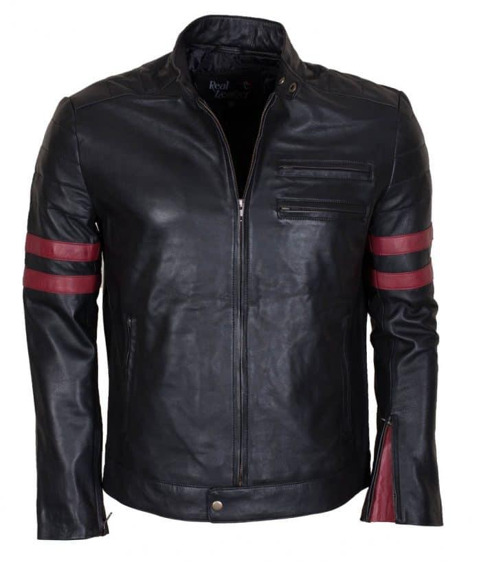 Mayhem Black Slim fit Motorcycle Jacket
