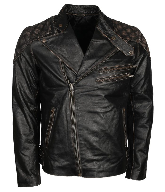 Bikers Skull Leather Jacket