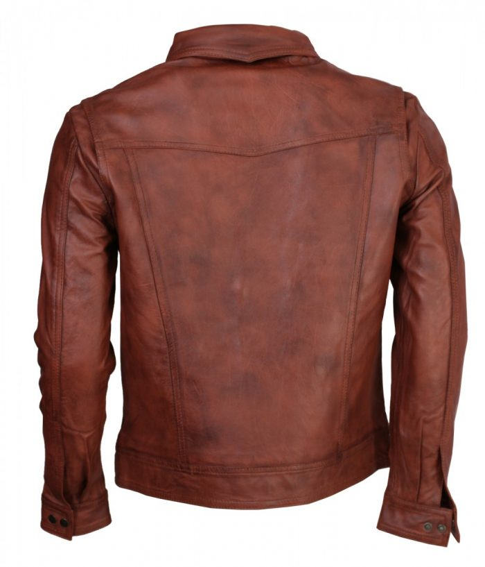 Wolverine Brown Leather Jacket
