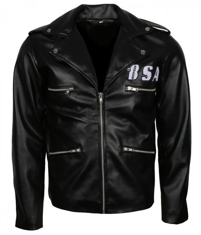George Michael Leather Jacket