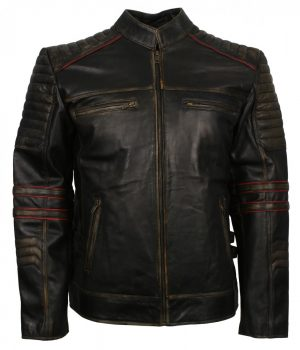 Vintage Retro Leather Jacket