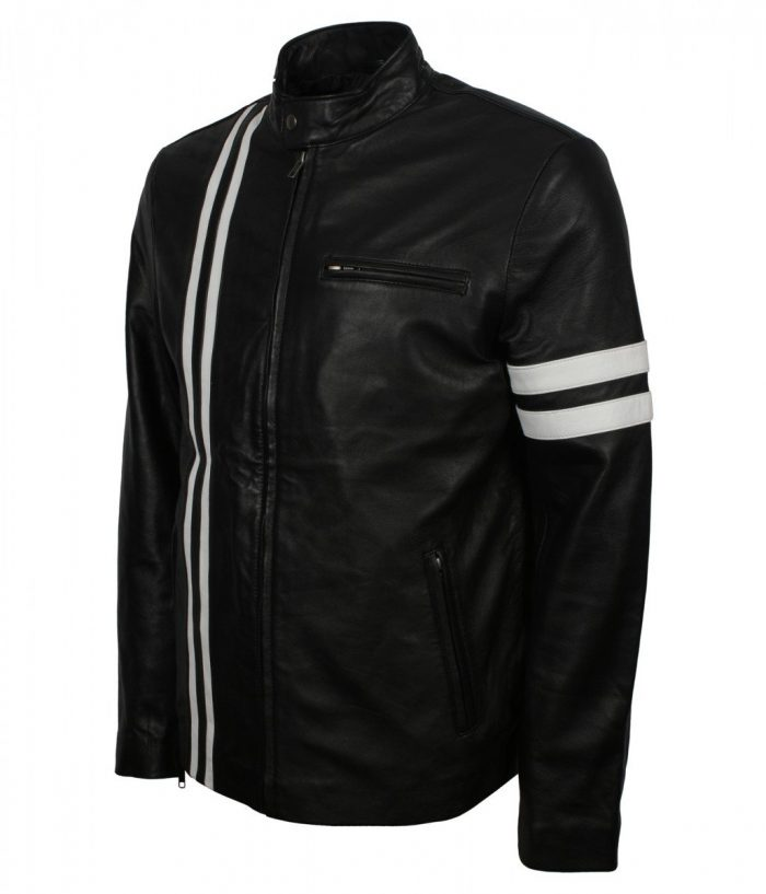 Retro Biker Leather Jacket