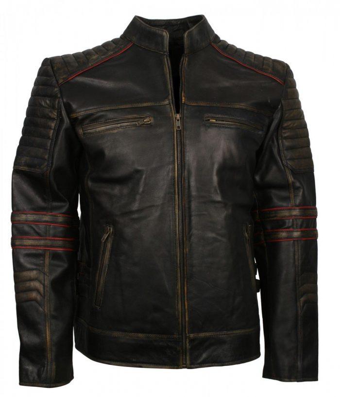 Vintage Retro Leather Jacket