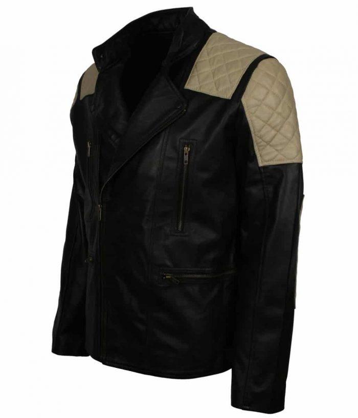 Inferno Black Mens Leather Jacket