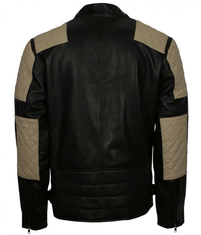 Inferno Black Mens Leather Jacket