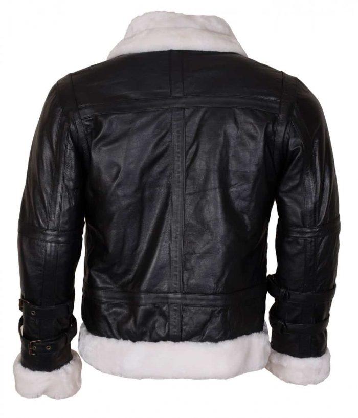 B3 Bomber Leather Jacket