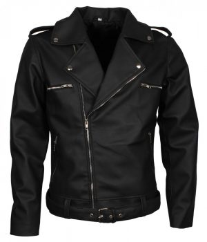 Negan Brando Leather Jacket For Mens