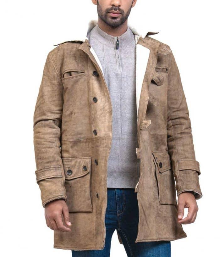 Winter Leather Coat